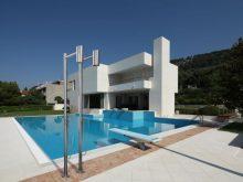 Shawà, la colonna doccia free standing per indoor e outdoor di Antonio Lupi